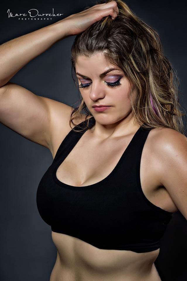 Fitness photography of Veronique Lauzon